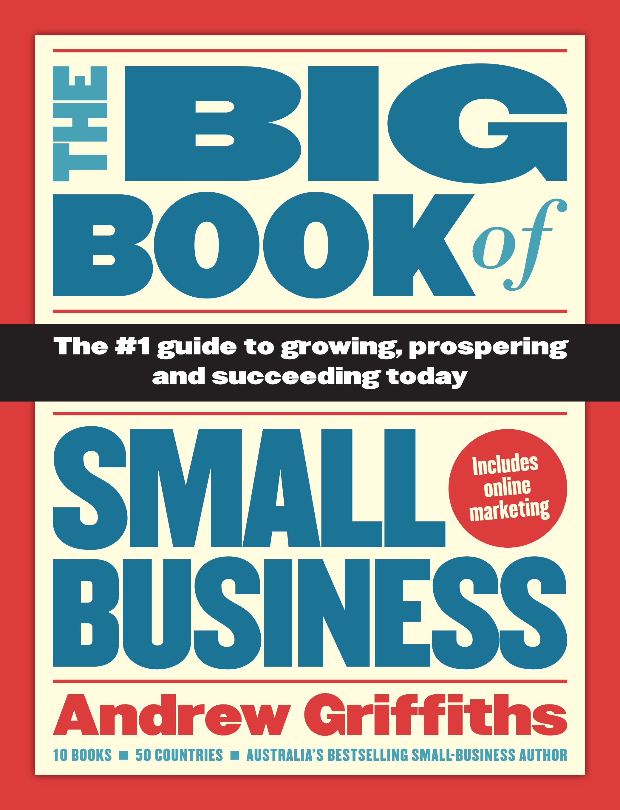 Business Book Cover : The big book of small business heads to china andrew